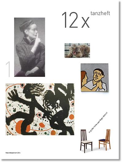 Tanzheft 12x, Seite 1